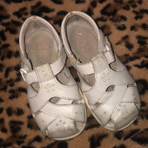 Stride Rite White Sandals